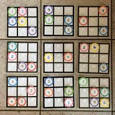 This Sudoku Puzzle Interactive Math Bulletin Board Is Really A Fun Idea For High School Students
