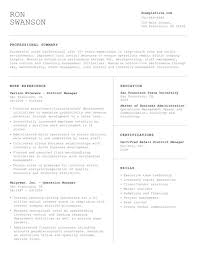 Resume Examples O Hloom