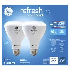 ge led 65w equivalent daylight high definition br30 dimmable led
