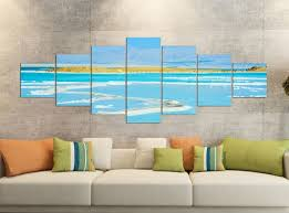 vlies leinwand bilder meer strand wandbilder wohnzimmer