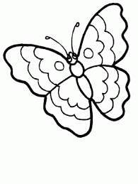 Butterfly 7 Animals Coloring Pages