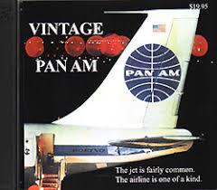 Vintage Pan Am Advertising CD Rom Post Flight Shop