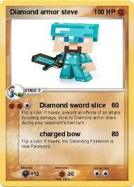 Pokemon Diamond Armor Steve