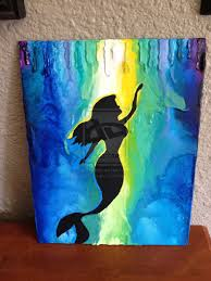 Disney Crayon Art Little Mermaid I Think Im Literally In Love With