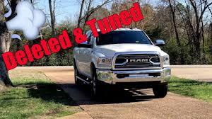 100 Ram Trucks Forum Deleted And Tuned 2017 Cummins 2500 Laramie Longhorn YouTube