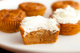 Bisquick Pumpkin Mini Muffins by Irresistible Pumpkin Pie Cupcakes The Krazy Coupon Lady