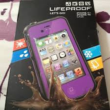 59% off Lifeproof Other Lifeproof iPhone 4 4s Case Purple from