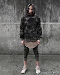 2018 Wholesale Youtube Korean Oversized Streetwear Hoodie Mens Fashion Urban Clothing Kanye Harajuku Camouflage Pullover Hoodies Men From H294364731