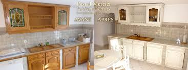 renovation cuisine bois peintre decorateur nimes bouillargues gard pascal mercier