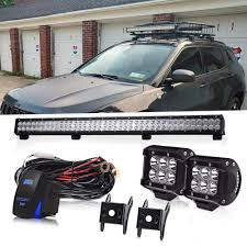 100 Roll Bars For Dodge Trucks Amazoncom 36 Inch 234W Led Light Bar Grill Guard Bar Push