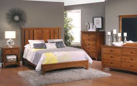 Exciting Modern Bedroom Interior Ideas With Popular Grey Paint Wall