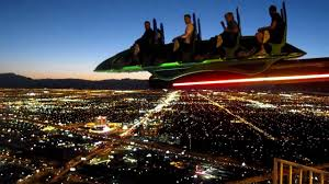 Stratosphere Observation Deck Hours by Las Vegas By Night X Scream Ride On Stratosphere Youtube