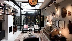 loft apartment wohnzimmer kreativ einrichten mit diy rohr