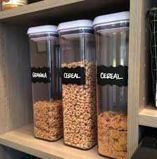 Pantry Organizer Containers Storage Containers For Kitchen Pantry