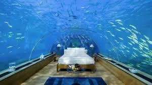 100 Rangali Resort Maldives Islands Underwater Hotel Room