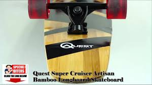 QUEST SUPER CRUISE ARTISAN BAMBOO LONGBOARD SKATEBOARD BEST REVIEW ... Best Cruiser Longboards 2015 Windward Boardshop Amazoncom Paris V2 180mm 50 Longboard Skateboard Trucks Set Of 183mm Gullwing Royce Pro Reverse Truck 14 Best Cruiser Wannabuy Images On Pinterest Globes Complete Flippin Board Co Seagull Fishtail Cruisers For The Street And Skate Park The Store Choice Products Bcp 41 Cruising Reviews For 2018 Brands 150mm Raw Muirskatecom Road Rider Freeride 45deg Race E Go Cruiser Electric Longboard Hicsumption