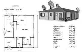 plan maison en bois gratuit plan maison bois modéle acajou plain pied terrasse