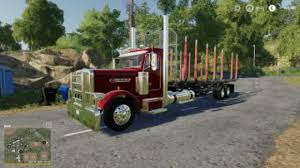 100 Log Trucks FS19 Peterbilt Log Truck V10 Modnetwork
