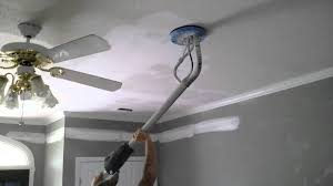 Scrape Popcorn Ceiling With Shop Vac by Removing Texture Youtube