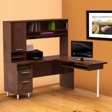 desks corner desk with drawers sauder computer desk sectional