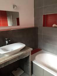 badezimmer waschtisch aus alten eichenbohlen selbst gebaut