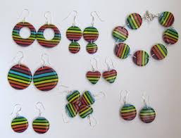 bijoux de création en pâte fimo bijoux en fimo motif marcel