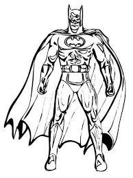 Fine Batman Coloring Pages For Efficient Article