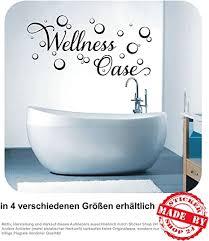 wandtattoo wellness oase wandaufkleber aufkleber badezimmer bad 30 farben zur auswahl 60 0 cm x 29 0 cm
