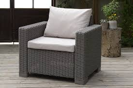 Keter Lounge Chairs Grey by Allibert By Keter California Armchair Duo Rattan Outdoor Garden