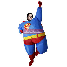 Cheap Halloween Airblown Inflatables by For Sales 2016 Fan Operated Airblown Inflatable Fat Superman