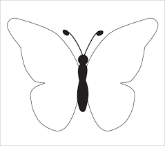 Butterfly Template To Color