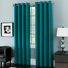 Kitchen Curtains Bed Bath And Beyond Modern Turquoise Curtain Grommet Top