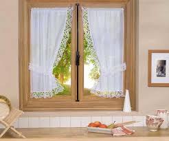 rideau de cuisine en rideau de fenetre