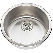 opella 14127 046 12 diameter round bar sink brushed stainless