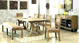 Industrial Farmhouse Dining Table Kitchen And Chairs Black