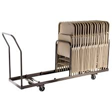 National Public Seating Dy 35 Folding Chair Dolly Mover Hand Truck ...