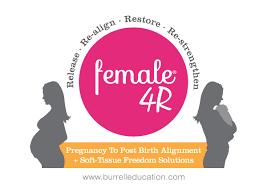 female 4r pregnancy to post natal alignment soft tissue freedom