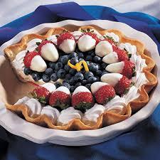Red White & Blueberry Pie