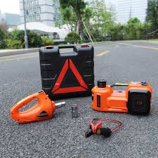 Electric Tire Lifting Car Jack Hydraulic Air Infatable 5Tons ...