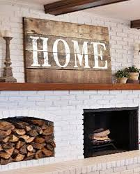 Room Large Rustic Home Sign