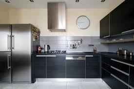 Modern Black Kitchen Cabinets Enchanting Decoration Kitchen