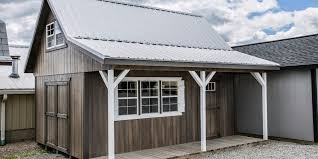 16x20 Shed Plans With Porch by Reliable Storage Barns And Sheds That Last Miller U0027s Storage Barns