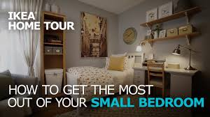 Living Room Storage Ideas Ikea by Small Bedroom Storage Solutions Ikea Home Tour Youtube