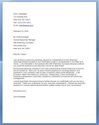 Best Ideas Technician Letters Okl Mindsprout Sample Cover