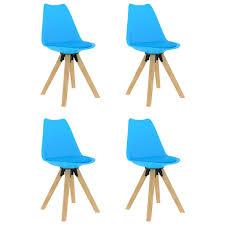 esszimmerstühle küchenstuhl 4er set blau