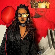 Digital Draw Badgalriri ANTI TAG WORK Rihanna