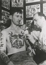 Vintage Military Tattoos Are So Beautiful And Look At That Placement Such A Big