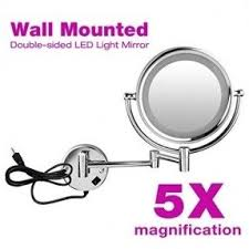 lighted mirrors wall mounted foter