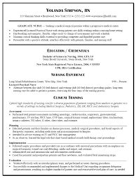 Graduate Nurse Resume Example