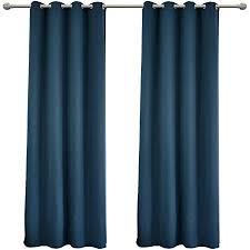 woltu vh5866dbl 2 2er set gardinen vorhang blickdicht mit ösen leichte weiche verdunklungsvorhänge für wohnzimmer kinderzimmer schlafzimmer
